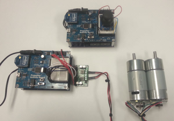 DC Motor Control Project | LEARN PARALLAX COM