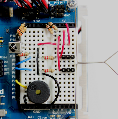 multi directional remote driving hack learn parallax coman example of an ir receiver pointing upwards for the activitybot robot