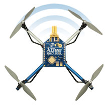 ELEV-8 v3 Wireless Telemetry via XBee
