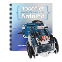 Boe-Bot to Shield-Bot Retrofit Kit for Arduino Uno