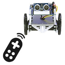 Remote Control Rock, Talk, and Roll ActivityBot