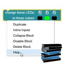 Scribbler 3 Robot Block Reference