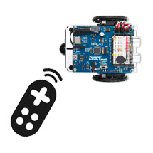IR Remote Control ActivityBot with Blockly