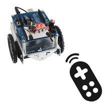 IR Remote Controlled Shield-Bot Project