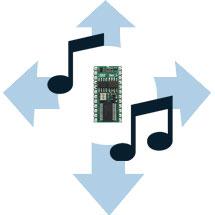 BASIC Stamp Tilt Tones Project