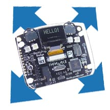 Badge WX: Accelerometer Bubble Display