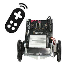 Control your cyber:bot with an Infrared TV Remote