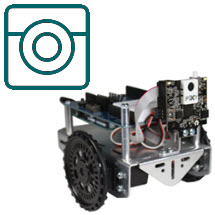 Mount a Pixy2 CMUcam on a Shield-Bot with Arduino
