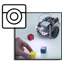 ActivityBot 360° and Pixy2 for Color Object Tracking