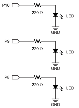 led symbol wiring diagram build led circuits learn parallax com  build led circuits learn parallax com