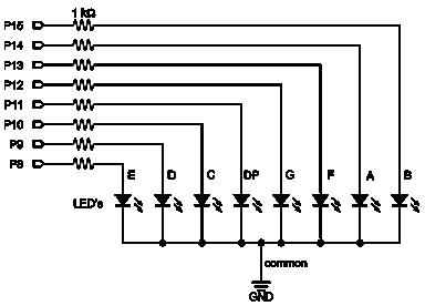 4x4 Keypad With 7 Segment Led Learn Parallax Com