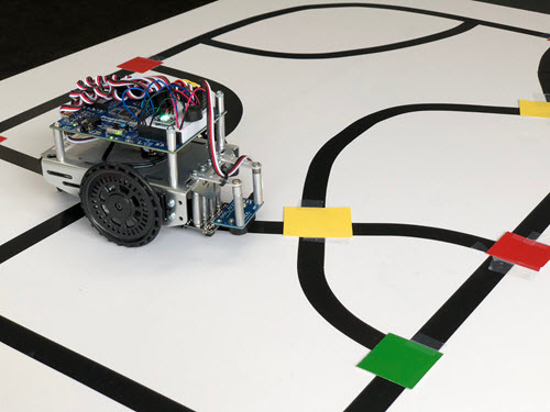 Building the Robot and Track | learn.parallax.com