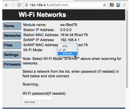 Join Another Wi-Fi Network | LEARN PARALLAX COM