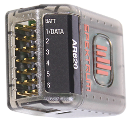 Spektrum receiver connections