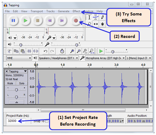 Creating Audio Files for WAV Players | LEARN PARALLAX COM