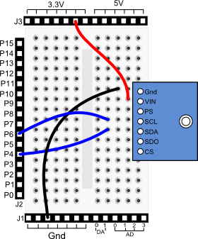 altimeter module | learn.parallax.com auto coil wiring diagram altimeter wiring diagram