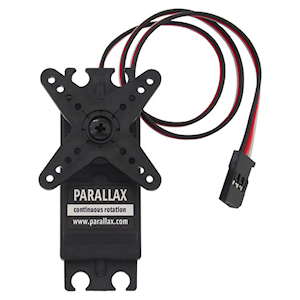 Continuous Rotation Servo from Parallax Inc. (#900-00008)