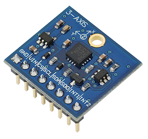 3-Axis Gyroscope Module from Parallax Inc. (#27911)