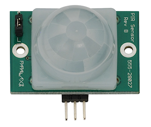 PIR Sensor (Rev B) from Parallax Inc. (#555-28027)