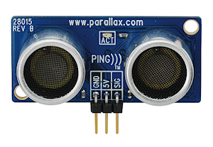 PING))) Ultrasonic Distance Sensor from Parallax Inc. (#28015)