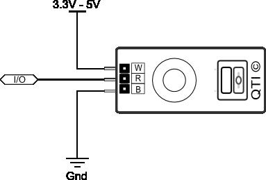QTI Sensor wiring diagram