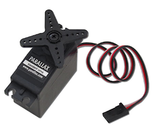 Standard Servo from Parallax Inc. (#900-00005)