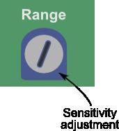 Adjusting the sensitivity of the Sound Impact Sensor