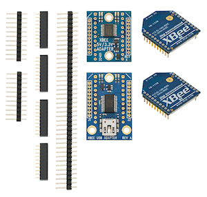 XBee Wireless Pack from Parallax Inc. (#32440)