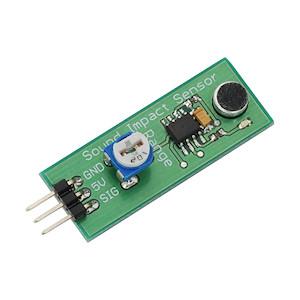 Sound Impact Sensor from Parallax Inc. (#29132)
