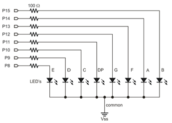 seven segment display learn parallax combuild the circuit for the flip using the diagram below