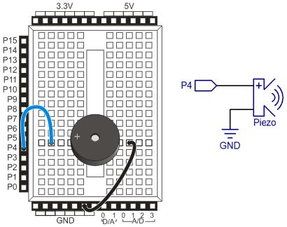 piezo beep learn parallax com rh learn parallax com Piezo Buzzer 5V Piezo Buzzer Circuit Diagram