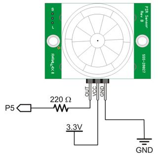 Magnificent Pir Motion Sensor Learn Parallax Com Wiring Digital Resources Lavecompassionincorg