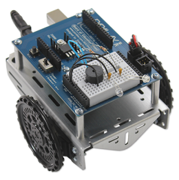 Robotics with the Board of Education Shield for Arduino
