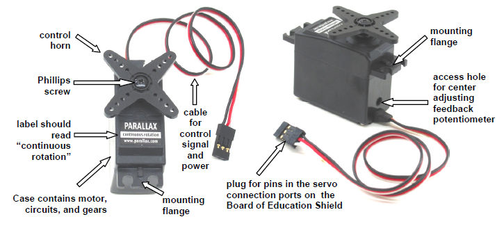 Activity 4 connect servo motors and batteries learn for How to control servo motor