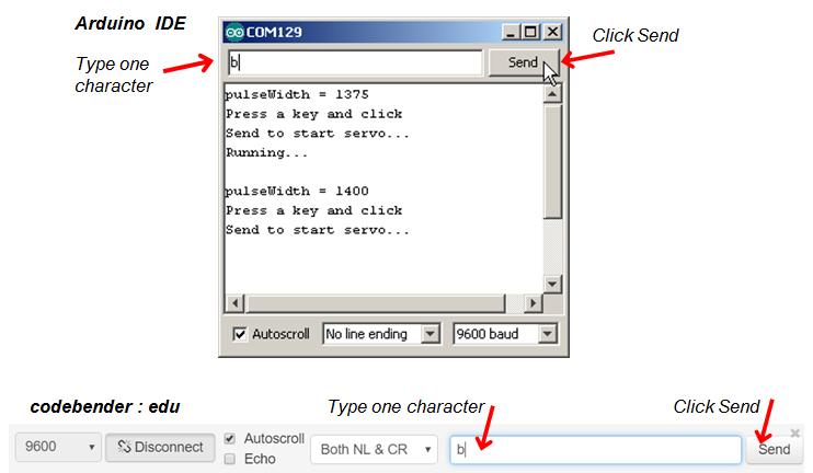 Example Sketch: Test Servo Speed   LEARN PARALLAX COM