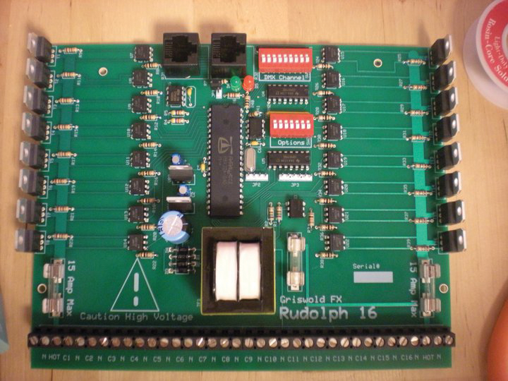 the grizwold fx rudoph 16 control board