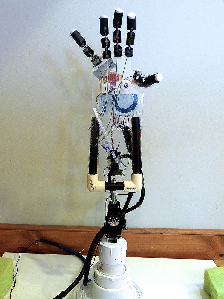 The arduino prosthesis using neurosky mindwave learn