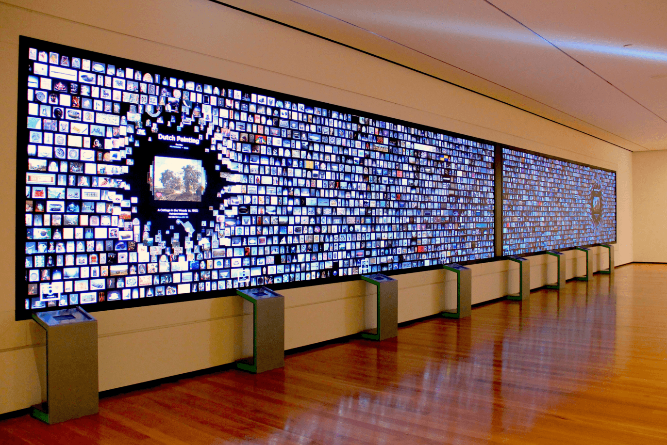 The Collection Wall at the Cleveland Museum of Art & The Collection Wall | learn.parallax.com