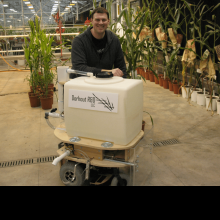 Aquarius: The Greenhouse Robot with inventor David Dorhout