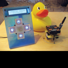 The WatchDuck Pool alarm system.