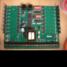 The Grizwold FX Rudoph 16 Control Board