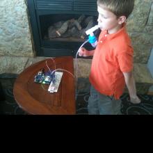 Using the Asthma Eliminator.