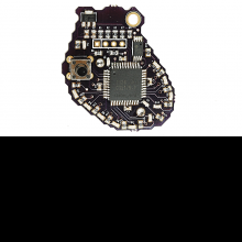 Back of heart PCB.