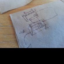 Rough schematic sketch.