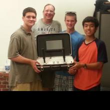 LWD Robotic Club with Neuro grip test device.