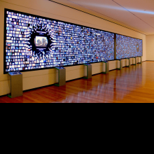 The Collection Wall at the Cleveland Museum of Art